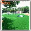 Grama artificial do futebol distintivo da decoração do campo de jogos do projeto