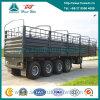 De 4-as van Sinotruk Op zwaar werk berekende Stake Transport Van Cargo Semi Aanhangwagen