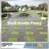 Естественная плитка пола вымощая камня гранита/базальта/известняка черная
