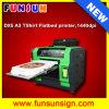 Impressora Flatbed Multifunction do DTG--A3 impressora barata Flatbed econômica de venda em linha do t-shirt da cor do tamanho 8 direta