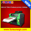 DTG Multifunction Flatbed Printer - Venda on-line A3 Size 8 Color Econômico Flatbed Cheap T-Shirt Impressora direta