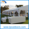 Clear personalizzato Span Party Tent per Events con Furniture/Floor/Cooling/Lighting