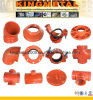 Пожар Fighting Ductile Iron Pipe Fittings с FM/UL Certificate