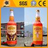 Hohe Drucken-Qualitätsaufblasbare Alkohol-Flasche (BMBT14)