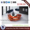 (HX-6D099) $198丸型の木の常務取締役オフィス表