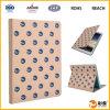 Caja de la tablilla del cuero de la buena calidad para el iPad
