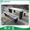 Banco de parque de la tabla de comida campestre del metal (FY-213X)
