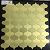 直接Irrrgularの金属ののりの金カラーモザイク