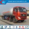 Caminhão de tanque de Dongfeng 8X4 35cbm LPG
