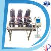 Fabricante hidráulico exógeno del filtro de agua del disco de la turbulencia automática y manual