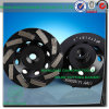 7-Inch Diamond Cup Grinding Wheel para Granite Processing, 7  Diamond Cup Wheels