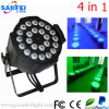 24PCS al aire libre 4in1 LED Full Color PAR Light