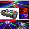 RGBW 4in1 색깔을%s 가진 LED 8PCS 거미 광속 빛