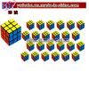 A festa de anos fornece o jogo mega do enigma dos cubos do enigma dos blocos dos artigos do partido (G8055)