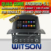 Carro DVD GPS do Android 5.1 de Witson para Renault Meganeii 2005-2009 com sustentação do Internet DVR da ROM WiFi 3G do chipset 1080P 16g (A5522)