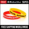 Graver les bracelets faits sur commande estampés de silicones