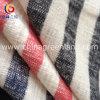 Cotton spesso Slub Spinning Stripe Fabric con Peached (GLLML149)