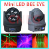 Populaire 6 * 12W LED Bee Eye Moving Head DJ Light