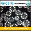 Microsfera di riempimento materiale di vetro trasparente di vetro regolare