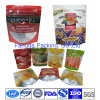 Kundenspezifischer Euroloch-Reißverschluss-Fastfood- Nahrungsmittelbeutel