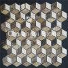 Плитка мозаики Brown китайской продукции Manufactory белая смешанная мраморный для стены ванной комнаты/домашнего украшения