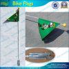 Kundenspezifische Plastikschleife-Rennen-Fahrrad-Fahrrad-Sicherheits-Markierungsfahne (T-NF15P07007)