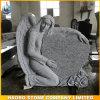 천사와 심혼 모형 묘석 둥근 조각품