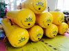 De gele Zakken van het Gewicht van het Water van de Test van de Lading van de Reddingsboot van pvc