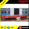 Coche de carril plano eléctrico de Kpt del fabricante superior de China 20t