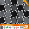 Pietra nera di colore dell'interruttore di sicurezza e mosaico di vetro dello spruzzo freddo (M855160)