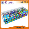 Equipamento 2015 plástico do campo de jogos das crianças de Vasia interno