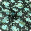 Tela Chiffon de seda impresa natural de Georgette de la tela