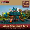 Campo de jogos ao ar livre atrativo interessante plástico do divertimento de LLDPE (X1508-1)