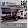 Isuzu carro plano de la recuperación del aterrizaje completo de 9 toneladas