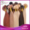 Estensioni pre tenute da adesivo brasiliane dei capelli del chiodo del Virgin diritto lungo