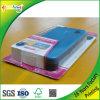 Ясная упаковка листа волдыря с бумажной карточкой в передвижной случай