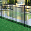 2400X1800mm High Security Ornamental Steel Fencing 또는 Ornamental Metal Fence (XM-007)