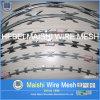 barbelé en accordéon de rasoir de diamètre de bobine de 450mm