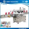 Máquina de etiquetado cosmética de la escritura de la etiqueta de la etiqueta engomada de la botella del plástico y del animal doméstico del alimento automático