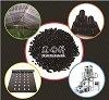 Haltbares Hochleistungs--Kalziumkarbonat gefülltes schwarzes Masterbatch für Plastik und Spritzen