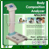 Analisador da saúde do corpo, analisador de composição do corpo, analisador Mslca03 do corpo