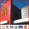 Revêtement durable ACP de mur de matière composite de fabricant