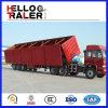 China stellte der 60 Tonnen-hydraulischen seitlichen Kipper-halb Schlussteil her