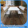 Silla de plegamiento plástica de la alta calidad al aire libre barata para el acontecimiento, silla plástica blanca del banquete del plegamiento de la venta popular, cenando la silla