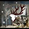 بالجملة عيد ميلاد المسيح أيّل نافذة لاصق