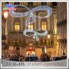 Luz comercial ao ar livre da decoração do diodo emissor de luz da rua das skylines do Natal