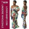 Повелительница вскользь платья одежды платья способа флористическая макси (L51329)