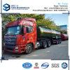 54000 L 3 de los árboles de petróleo del buque de gasolina del depósito especificación del acoplado semi