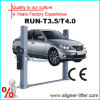 3/4ton ascenseur des véhicules à moteur de voiture de bon marché deux poteaux