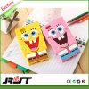 iPhone 6s를 위한 3D 만화 Spongebob 실리콘 전화 상자